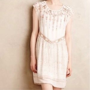 Anthropologie One September embroidered